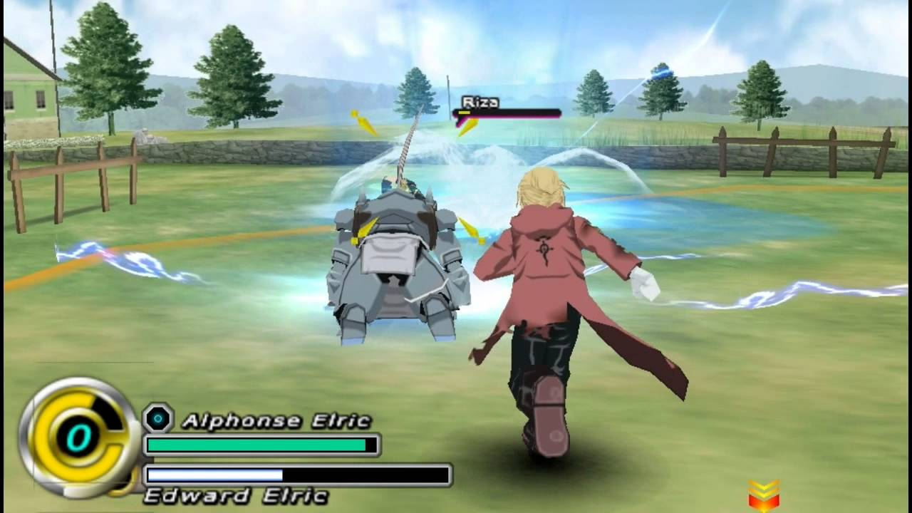 Fullmetal Alchemist: Brotherhood (Europe) PSP ISO