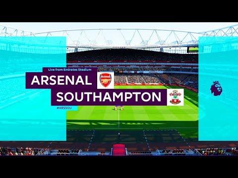 Arsenal vs Southampton | English Premier League 19/20 | FIFA 20 Game Play