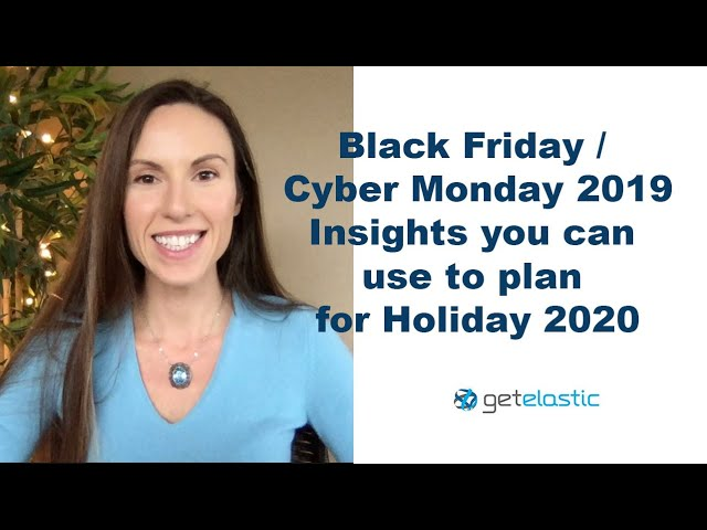 4 Takeaways From Cyber Week 2019 To Help You Plan For Holiday 2020 Video