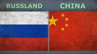 RUSSLAND vs CHINA   Armee Ranking   2018