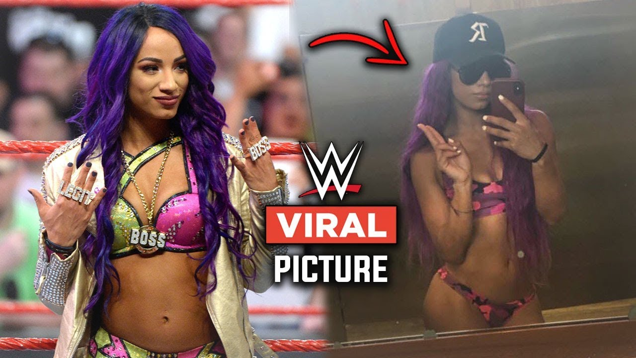 Viral New Picture of Sasha Banks Has WWE Fans In Disbelief And Stunned About Her Status | WWE Raw