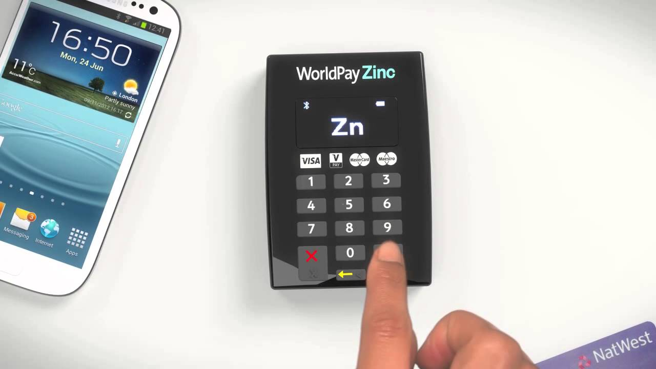 World Pay Zinc >> How To Pair Your New Worldpay Zinc Keypad With Your Android Device