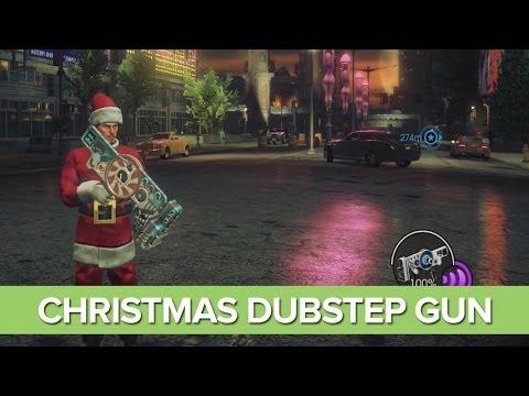 Christmas Dubstep Gun - Saints Row 4 DLC How the Saints Save Christmas