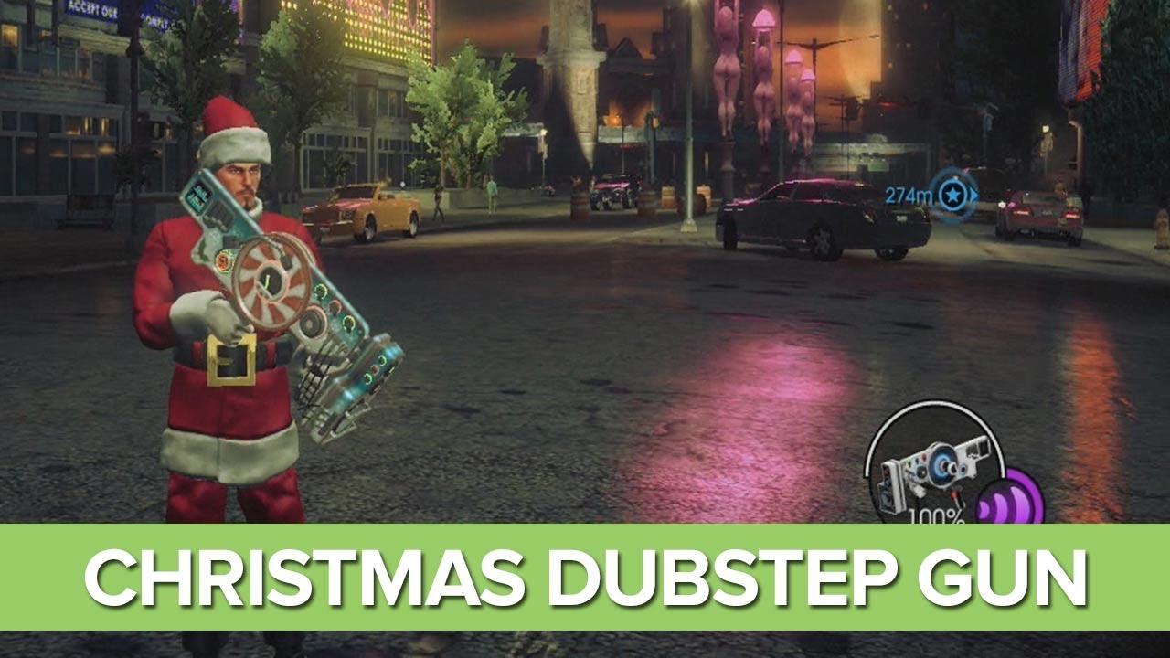 Christmas Dubstep 2020 Christmas Dubstep Gun   Saints Row 4 DLC How the Saints Save