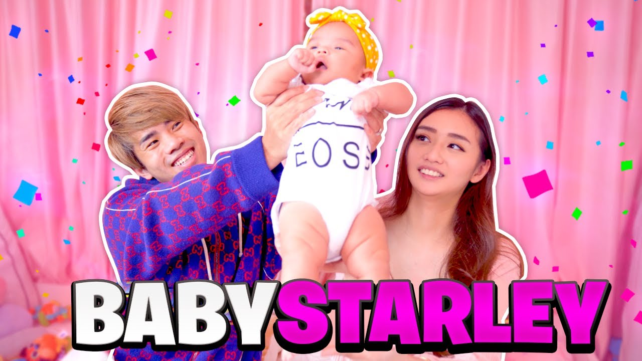 Meet Our Baby, Starley! - YouTube