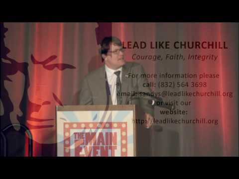 Lead Like Churchill - Sandys Speech Clip - 001