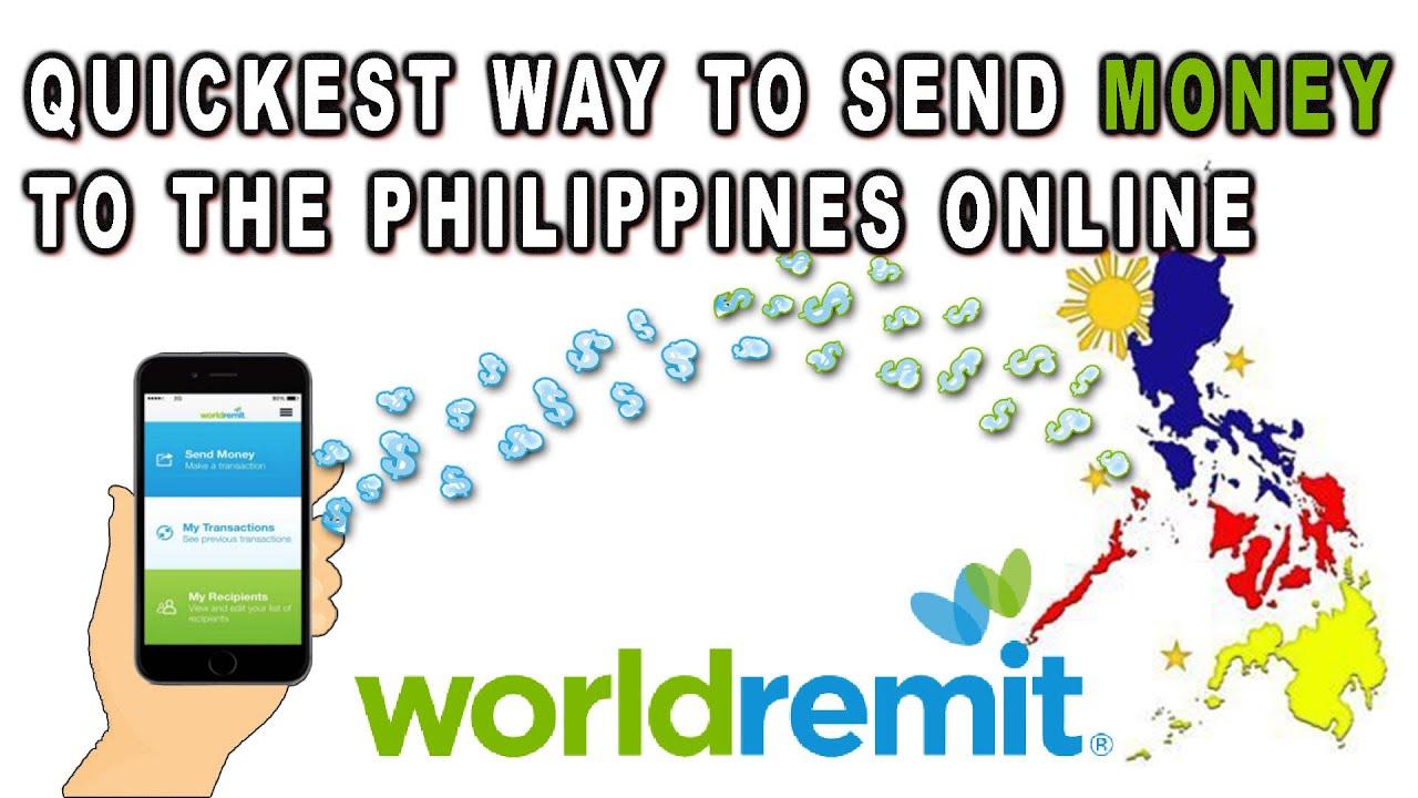 Quickest Way To Send Money Philippines Online