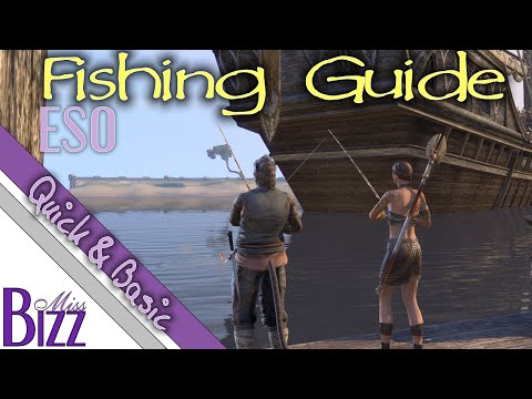 ESO Fishing Guide - How to catch rare fish in ESO - How to get Perfect Roe in Elder Scrolls Online