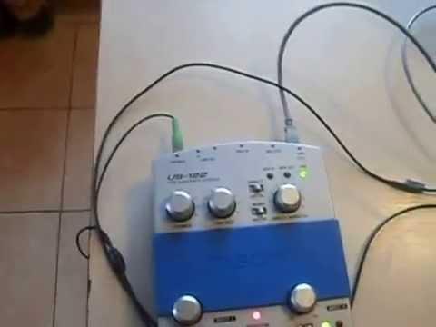 Аудио интерфейс Tascam US 122 Frontier