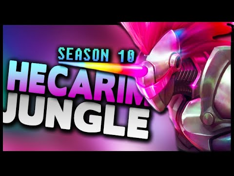 [Season 10] Hecarim Jungle Gameplay Guide - League of Legends