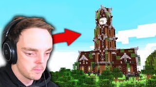 MY 1000IQ MINECRAFT BASE! (part 15)