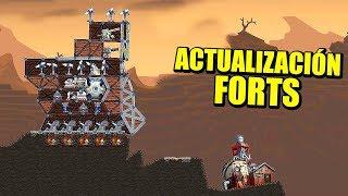 Actualización FORTS - NUEVO MAPA 3V3, LA BOCA DEL INFIERNO | Gameplay Español