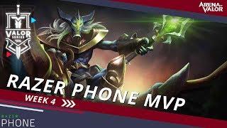 Razer Phone MVP - Week 4 | Valor Series [NA] - Arena of Valor