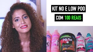 Kit Completo No/Low Poo com 100 reais | Mari Morena