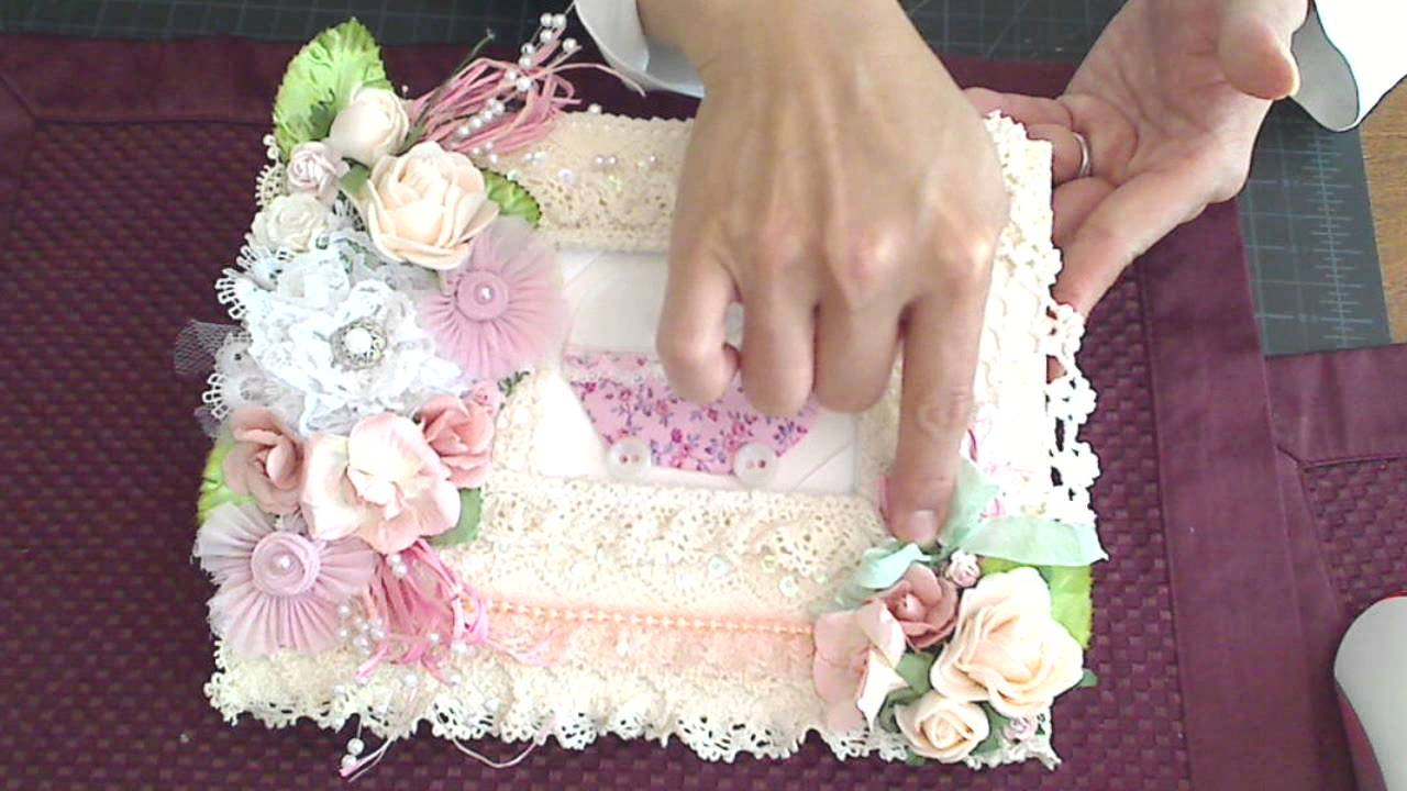 Shabby Chic Baby Shower Guest Book