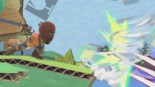 Smash Ultimate's Mii Sword Fighter