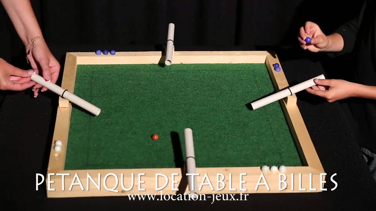 La P Tanque De Table Billes Jeu D 39 Habilet Et De Strat Gie Youtube