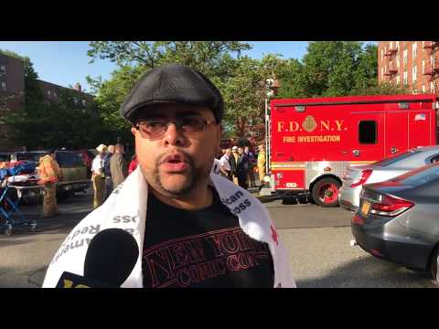 Staten Islander escapes to safety from 5-alarm apartment fire
