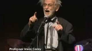 Professor Irwin Corey at the Cutting Room NYC