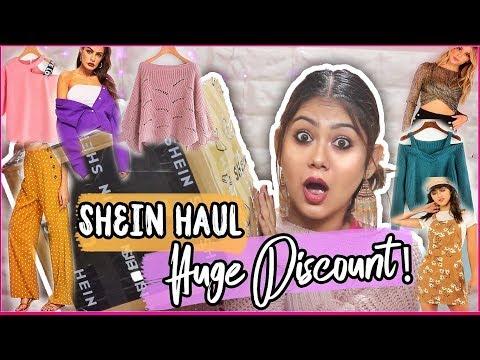 4ee1f616ab SHEIN HAUL | Black Friday SALE + Huge Discount! SHEIN INDIA |  ThatQuirkyMiss - YouTube