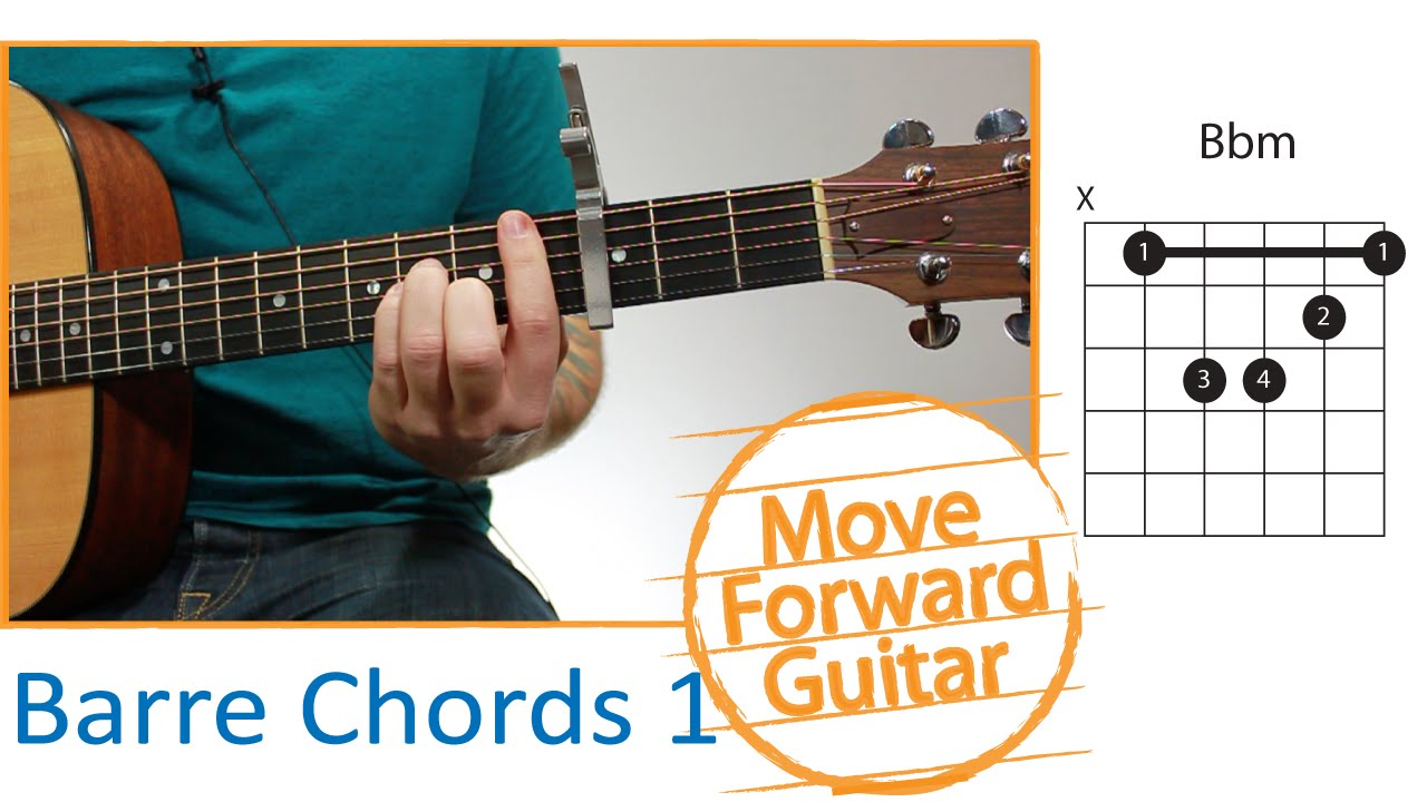 Bar Barre Chords Made Easy Lesson 1 Youtube