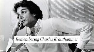 Remembering Pulitzer Prize-winning columnist Charles Krauthammer