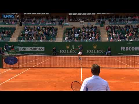 Monte-Carlo 2014 Final Highlights Wawrinka Federer