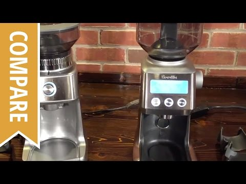 Compare: Breville Dose Control Pro and Smart Grinder Pro Coffee Grinders
