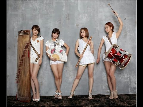 Fusion Korean traditional music band - Eoullim