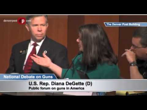 Rep. Diana DeGette Doesn't Understand High-Capacity Magazines Can Be Reloaded