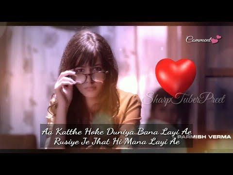 KHAAB (LYRICAL)(Female Version) AKHIL Ft. PARMISH VERMA    Most Romantic Punjabi Song