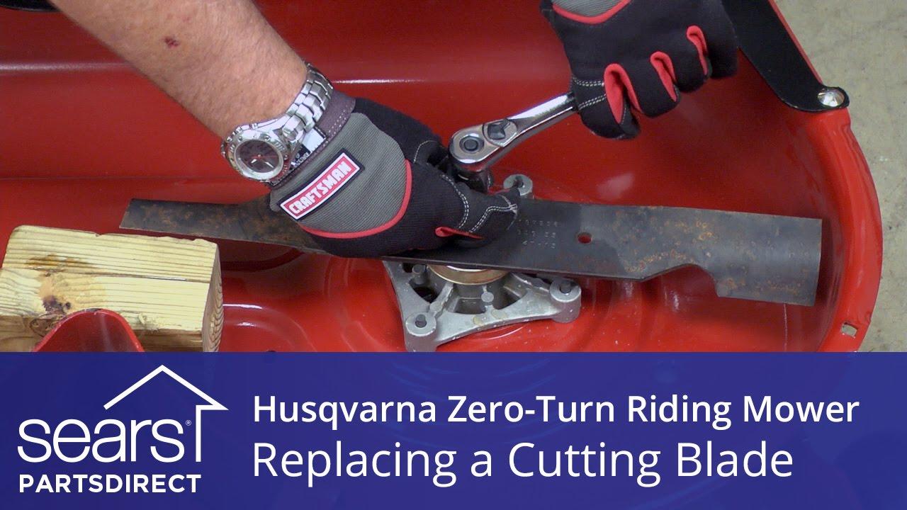 Husqvarna Zero Turn Mower Parts Diagram Electrical Wiring John Deere Z425 How To Replace A Riding Cutting