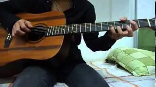 [Guitar] Đánh chậm Sunflower + Tab (rất dễ tập)