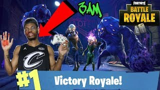 PLAYING FORTNITE AT 3AM!!! FORTNITE MONSTERS CAME TO MY HOUSE AND KILLED ME OMG!!! (DO NOT PLAY)