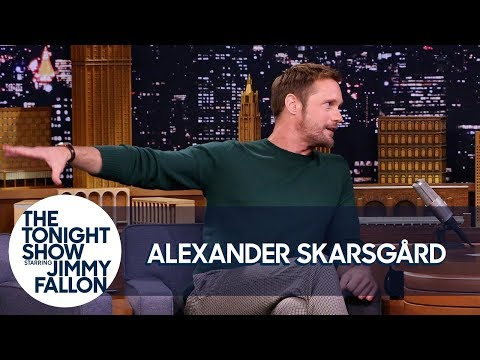 Alexander Skarsgård Teaches Jimmy the Swedish Midsummer Dance