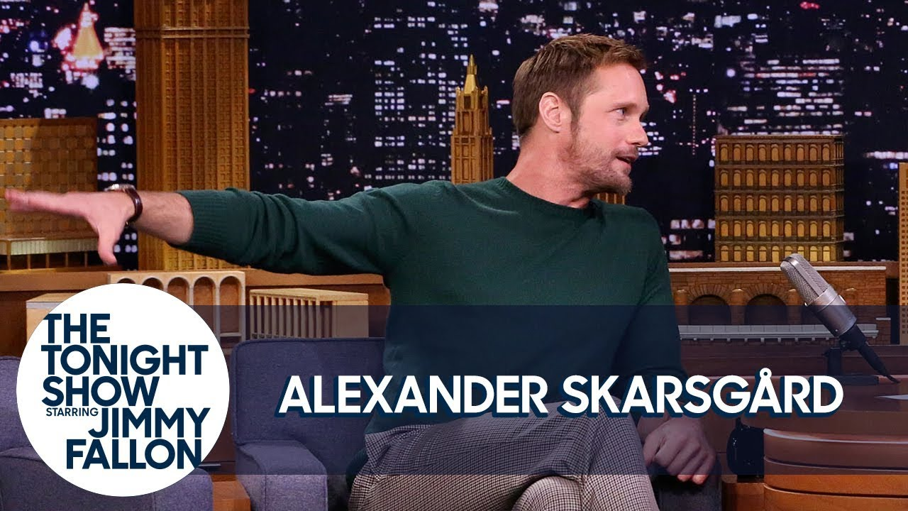 Alexander Skarsgård Teaches Jimmy the Swedish Midsummer Dance
