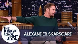 Download Video Alexander Skarsgård Teaches Jimmy the Swedish Midsummer Dance MP3 3GP MP4