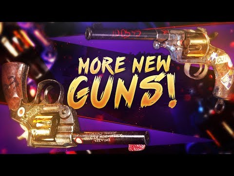 Even MORE New Weapons - WW2 Enfield No. 2 & Reichsrevolver