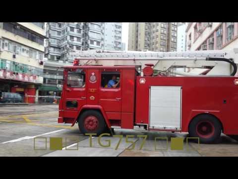 *Rare* HKFSD F59 Dennis HP F473 MP 香港消防