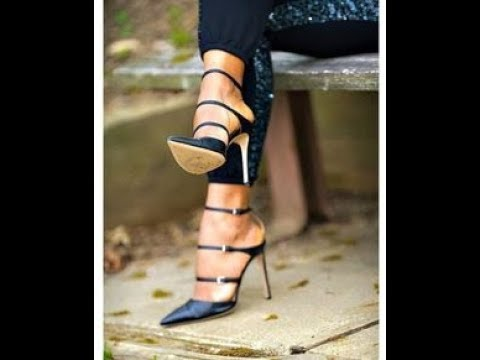The Most Fashionable Spring-Summer Women's Shoes Collection. Compilation.