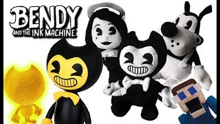 Bendy and the Ink Machine Official Plush Toys Figures Keychain Clips Exclusives Golden Bendy