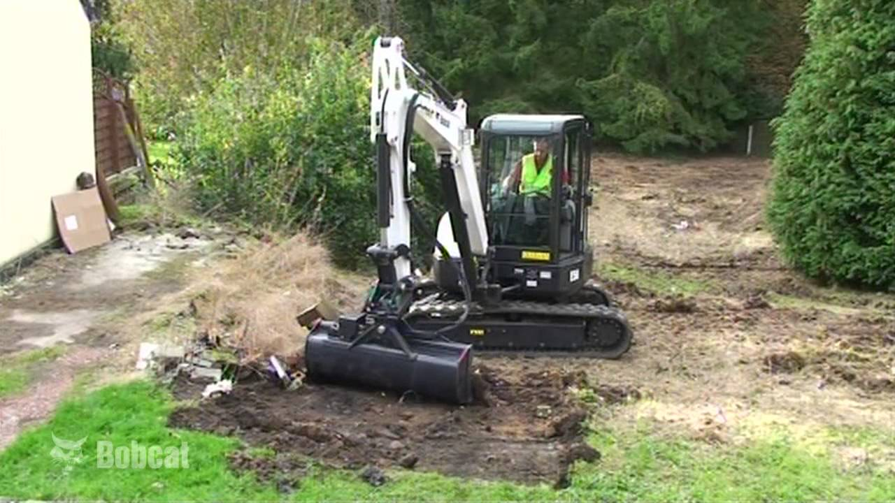 Bucket for Excavator Video | Bobcat Excavator Attachments