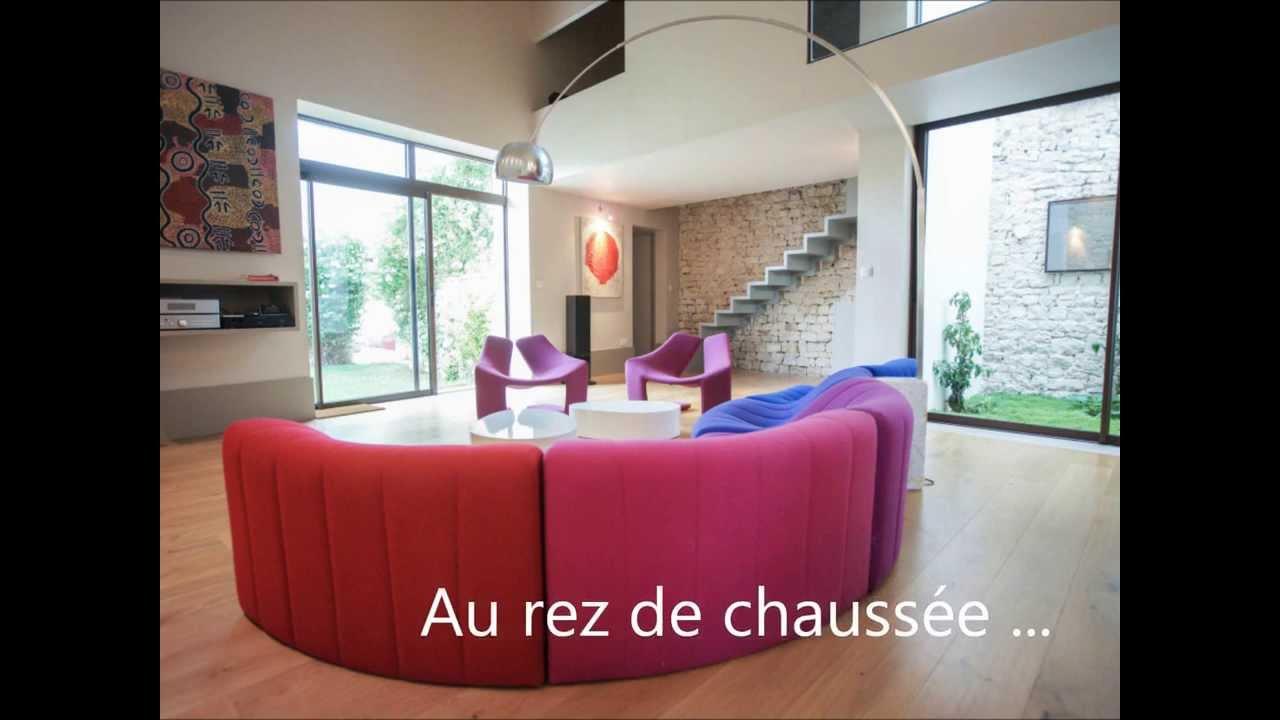 maison d'architecte à vendre à la noue - sainte marie de ré - youtube