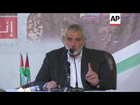 Hamas leader on Israel, Fatah