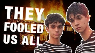 Dobre Brothers ATTACKED! (Lucas and Marcus' Fake Vandalism)