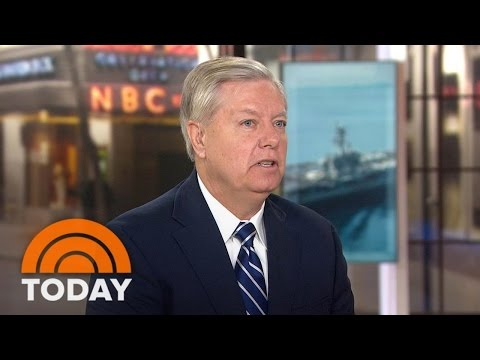 Lindsay Graham: 'We're On A Collision Course With North Korea'   TODAY