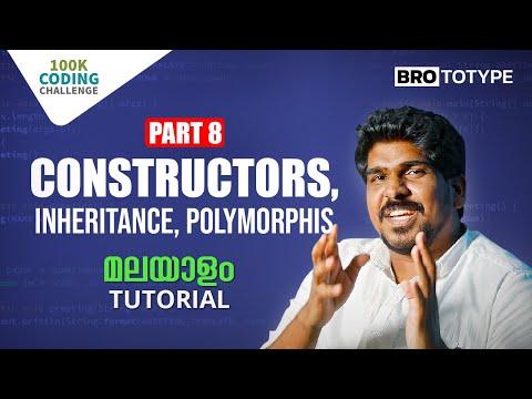 Part 8 | OOP Concepts: Constructors, Inheritance, Polymorphism | Crossroads
