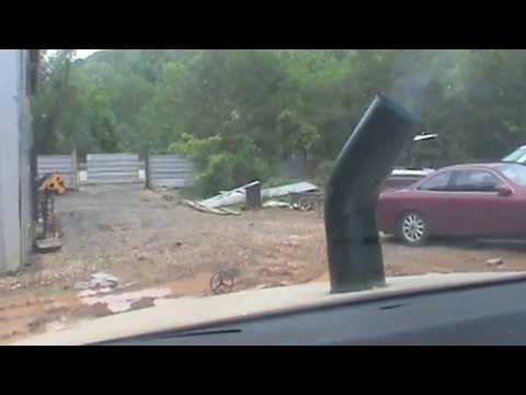 Waste Motor Oil fired Mercedes 300sd