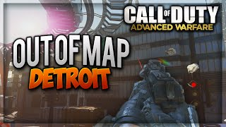 "COD Advanced Warfare Jump Spots - NEW ""Detroit Out Of Map"" After Patch (COD AW Glitches)"