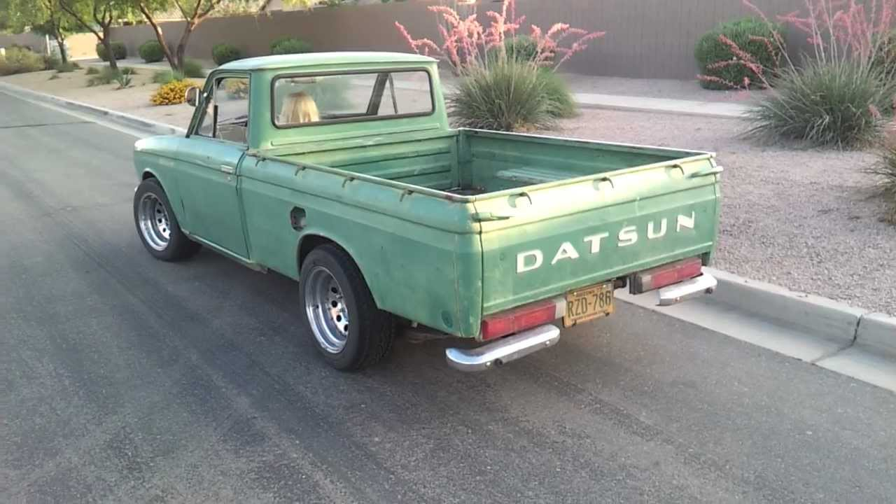 1970 Datsun 521 L20B.mp4 - YouTube